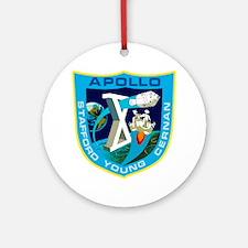 Apollo 10 Ornament (Round)