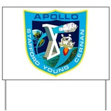 Apollo 10 Yard Sign