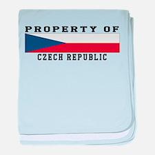 Property Of Czech Republic baby blanket