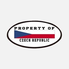 Property Of Czech Republic Patches