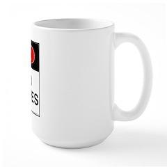Danger Loud Bagpipes Mug
