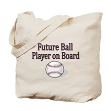 Future Ball Player on Board Tote Bag