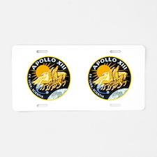Apollo 11 Aluminum License Plate
