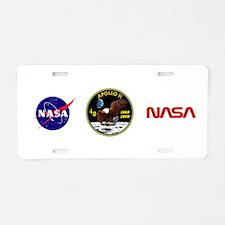 Apollo 11 40th Anniversary Aluminum License Plate
