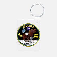 Apollo 11 40th Anniversary Keychains