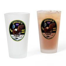 Apollo 11 40th Anniversary Drinking Glass