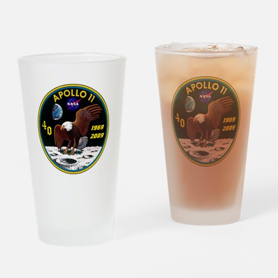 Apollo 11 40th Anniversary Drinking Glass