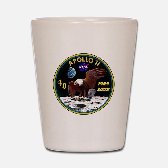 Apollo 11 40th Anniversary Shot Glass
