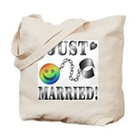 Just Married/Future Ball and Chain Tote Bag