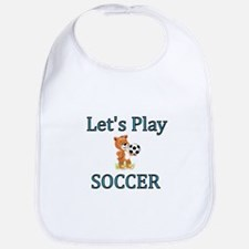 Lets Play Soccer Bib