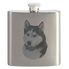Husky dog Flask