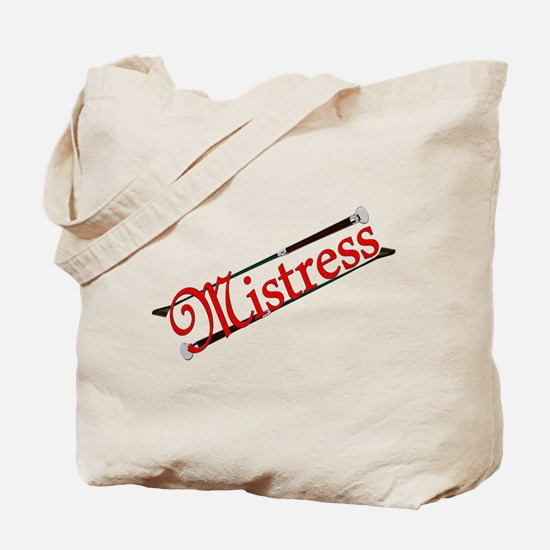 """""""Mistress"""" Title with Riding Crops Tote"""