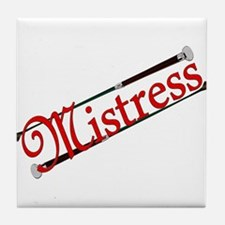 """""""Mistress"""" Title with Riding Crops Tile"""