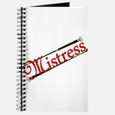 """""""Mistress"""" Title with Riding Crops Journal"""