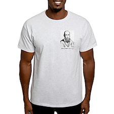 """St. Francis de Sales Grey T """"True Devotion"""""""