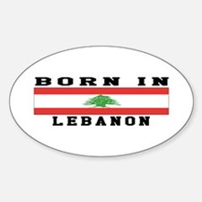 Born In Lebanon Decal