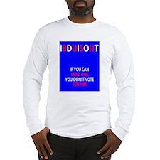 iBdUiSoHt Long Sleeve T-Shirt