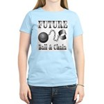 FUTURE Ball and Chain Women's Pink T-Shirt