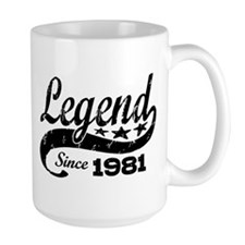 Legend Since 1981 Mug