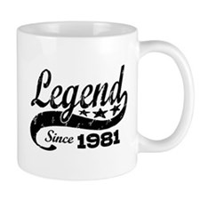 Legend Since 1981 Small Mug