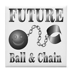FUTURE Ball and Chain Tile Coaster