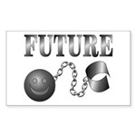 FUTURE Ball and Chain Rectangle Sticker