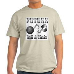 FUTURE Ball and Chain Ash Grey T-Shirt