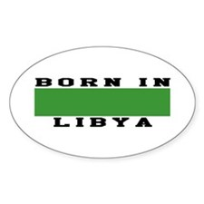 Born In Libya Decal