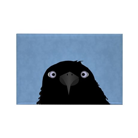 Eating Crow Rectangle Magnet