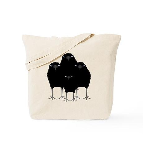 Eating Crow Tote Bag