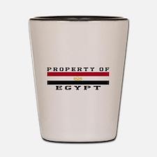 Property Of Egypt Shot Glass