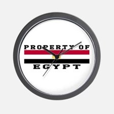 Property Of Egypt Wall Clock