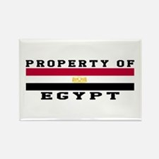 Property Of Egypt Rectangle Magnet