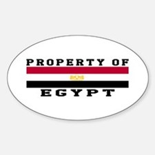 Property Of Egypt Decal