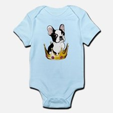Boston in crown Onesie