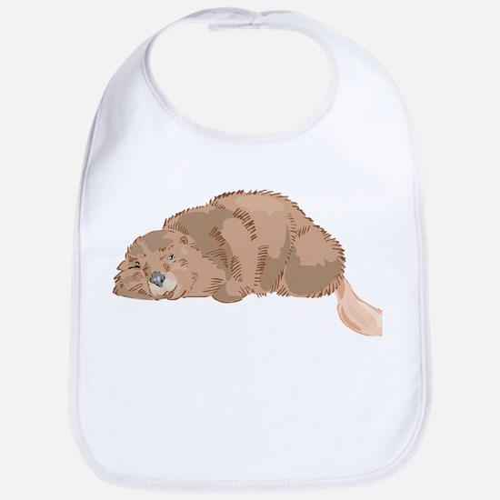 Cute Beaver Bib