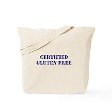 CERTIFIED GLUTEN FREE Tote Bag