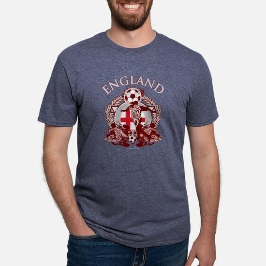 England Soccer Mens Tri-blend T-Shirt