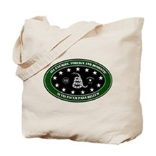 All Enemies Tote Bag