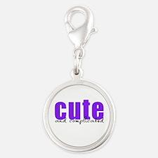 Purple Cute Complicated Charms