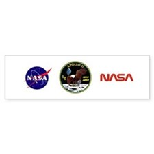 Apollo 11 40th Anniversary Bumper Bumper Sticker