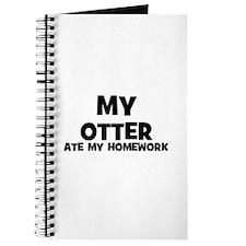 My Otter Ate My Homework Journal