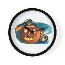 Halloween Goblins Wall Clock