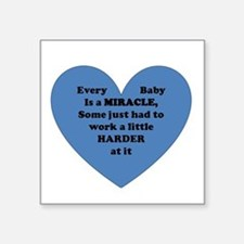 Miracle Baby Sticker