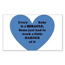 Miracle Baby Decal