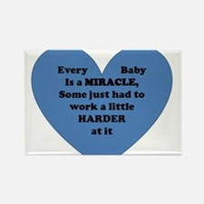 Miracle Baby Rectangle Magnet