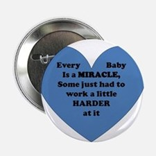 """Miracle Baby 2.25"""" Button"""