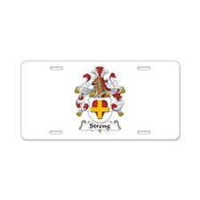 Streng Aluminum License Plate