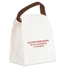GLUTEN FREE DINING Canvas Lunch Bag
