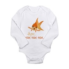 Here Fishy Body Suit